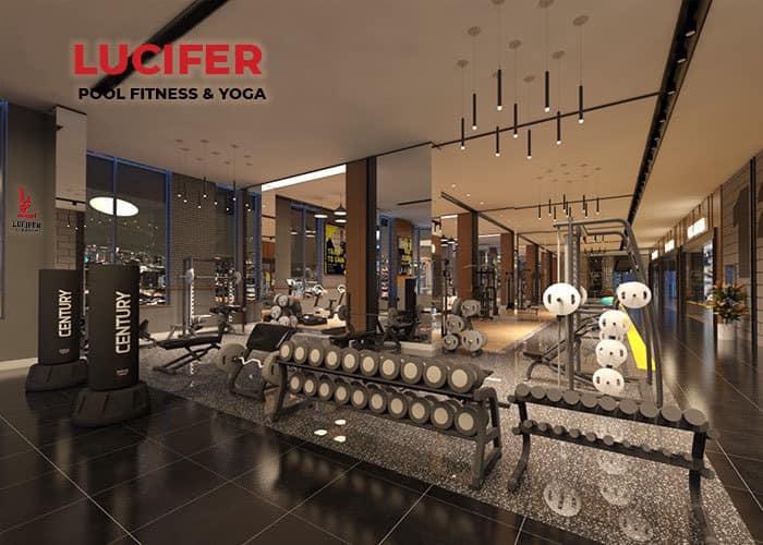 Khu vực Fitness